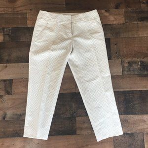 Anthro Cartonnier Career Ankle Crop Trousers 0